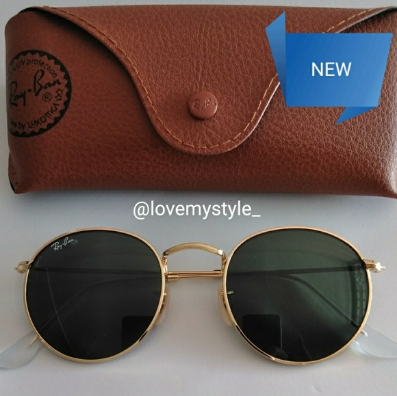 AUTHENTIC RAY BAN ROUND CLASSIC 3447 07cfbd8b7